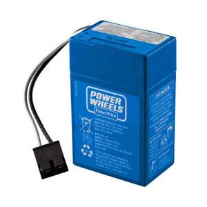 Power Wheels Blue 6 Volt Battery 00801-1457