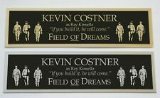 Kevin Costner Field of Dreams nameplate for signed autographed poster photo