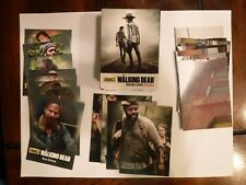 COMPLETE Walking Dead Season 4 Parts 1 & 2 - 188 Card Set includes 6 Insert Sets