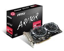 RX 580 8GB AMD Radeon MSI ARMOR OC Gaming Graphics Video Card DP HDMI RX580
