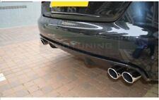 PARAURTI POSTERIORE RS4 stile Valance DIFUSOR per AUDI A4 B8 Splitter Doppio Scarico