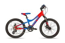 Kinderrad MTB S'COOL troX pro 20 7-S disc red/blue matt Modell 2017 | 6053