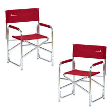 Caravan Furniture - Isabella Directors Chair Red Pair