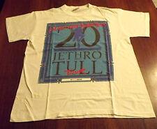 JETHRO TULL Vintage 1987 T-Shirt XL Blues Rock Rolling StonesThe Beatles