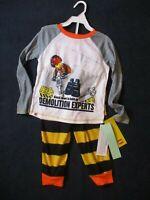 Lego Movie 2 Toddler Boys 2 Piece Pajama Set Size 4T  Demolition NEW NWT