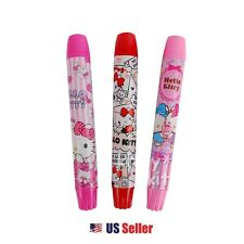 Sanrio Hello Kitty Twist Up Type Eraser School Stationery (1pc Random)