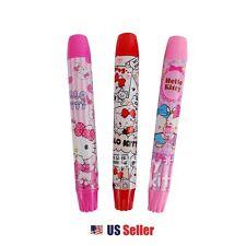 Sanrio Hello Kitty Twist Up Type Eraser School Stationery (1pc Random)