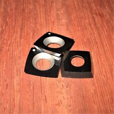 "15mm R50 (2"") Square Carbide Insert Easy Wood Tools Ci1, Rockler- 3 PACK &Screws"