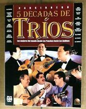 Cancionero 500 Canciones  5 Decadas de Trio  Libro