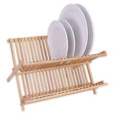 Panier à vaisselle 27 x 42 32 cm BAMBOU égouttoir à SUPPORT D'assiette
