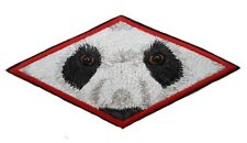 """Panda Eyes Embroidered Patch 7.5"""" x 3.6"""""""