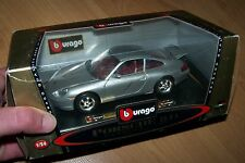 BBURAGO COD 1585 Porsche Carrera 1997 MINT IN BOX MIB scale 1 24 Diecast Metal