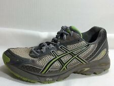 Asics GT 2150 DuoMax T060N Running Shoes Womens 8.5 M Grey Green Sneaker Leather