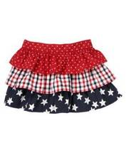 New Gymboree tiered red white blue skirt girls 18-24 m 4th of July