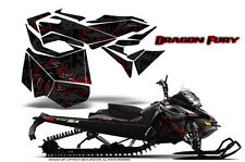 SKI-DOO REV XM SUMMIT SNOWMOBILE CREATORX GRAPHICS KIT DRAGON FURY RED BLACK