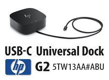 HP Universal USB-C Dock G2 - 5TW13AA#ABU - New/Sealed/Boxed