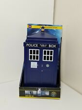 NEW Doctor Who Tardis Talking Cookie Jar, Lights Sounds