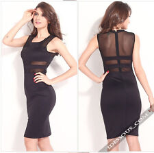 Sexy Business Kleider Celebrity Dress Abendkleid Party Damen Kleid  LA FERANI