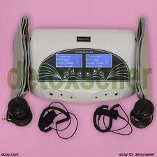 Dual User Ionic Detox Foot Spa Bath Cleanse Fir Belts Detoxification 5 Modes CE