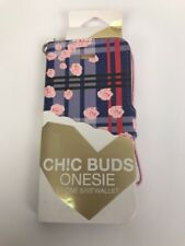 Ch!c Buds PHEOBE iPhone 5/5s Wallet Case Cute  FLORAL Camera Friendly DEAL