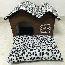 1xPet House&Bed Dog Cat Soft Kennel Mat Pad Warm Puppy Cushion Basket Comfort