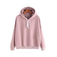Fashion Men Women Plain Pullover Hoodie Hooded  Work Hip-hop Jumper Sweatshirt