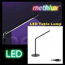 LED Schreibtischleuchte mikado 300 schwarz chrom Schreibtischlampe Büroleuchte