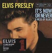 Elvis Presley IT'S NOW OR NEVER CD single Ltd Edition RARE! MINT Reduced