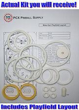1978 Bally Mata Hari Pinball Machine Rubber Ring Kit