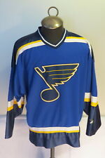 St. Louis Blues Jersey (Retro) - Away Blue by Pro Player - Men's Large