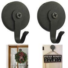 2x Magnetic Metal Wreath Hanger Over The Door Wreath Metal Hook Christmas Front