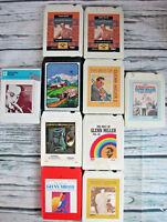 Lot of 10 Glenn Miller 8 Track Tapes