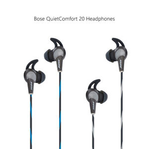 Bose QuietComfort 20 Acoustic Noise Cancelling Headphones Bose QC20 Earbuds