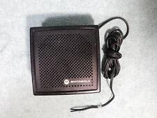 Motorola External Speaker With Bracket For Ham Mobile Uhf Vhf 800 Radio Scanner