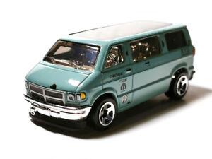 Hot Wheels 1:64 Green Dodge Van Kids Model Diecast Toy Car HW Drift GRX21-M7C5