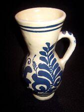 Vase   Keramik / Ton   uralt    H ca. 20 cm