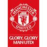 Manchester United FC - Forever Logo POSTER 61x91cm NEW * Soccer Football
