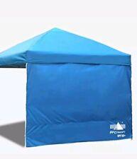Blue Sun Wall for 10x 10 Straight Leg pop up Canopy Sidewall kit