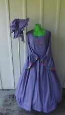 DRESS AND BONNET THAT CAN BE USED FOR MANY OCCASIONS  size 20 had many requests