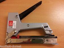 Ro-ma 16 Hand 71 Series Stapler. Manual Metal Upholstery Tacker/Stapler