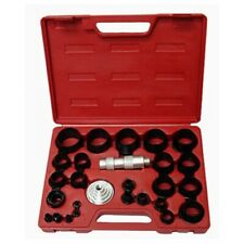 Large Hand Hollow Hole Punch Set Kit for Gasket Leather Punching Steel Die Tool