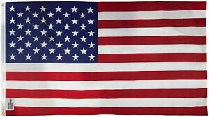 US Flag 3x5 FT Made in USA by  Valley Forge Sentinel American Flag #35431000