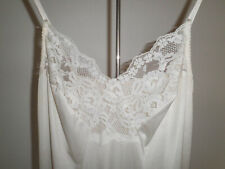 Vintage Bendon Cream full slip - size 14/36 Length X Long, in great condition