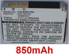 Batterie 850mAh type SHBW01 XN-1BG90 XN-1BT90 pour SHARP X813