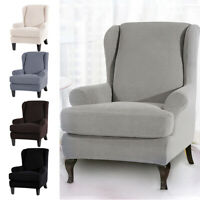 2PCS Stretch Couch Sofa Lounge Covers Slipcovers Protector Seat  Dining Chair AU