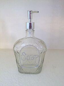 Crown Royal soap dispenser