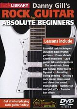 LICK LIBRARY DANNY GILLS ROCK GUITAR FOR ABSOLUTE BEGINNERS Learn Play Easy DVD