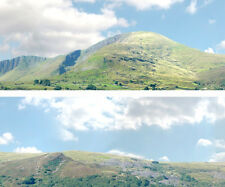 "Scenic Backdrop Mountains 255B  (10' L x 24"" H) Premier HO Scale"