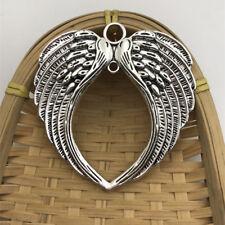 1 pcs Tibet silver Huge Angel Wings Charms 65x68mm DIY Jewellery Making crafts