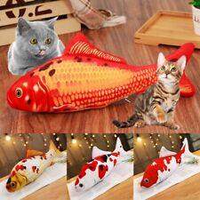 1pc Cat Simulation Fish Toy Catnip Pet Cat Kicker Kitten Scratching Play Plush